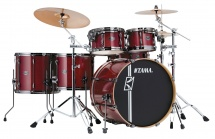 Tama Ml52hlzbns-ccw - Superstar Hyper-drive Maple 22/10/12/14/16 Classic Cherry Wine