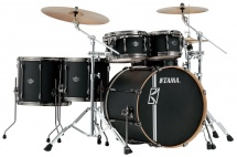 Tama Ml52hlzbns-fbk - Superstar Hyper-drive Maple 22/10/12/14/16 Flat Black
