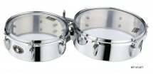 Tama Mt1012st Mini Timbales 10x4 + 12x4 + Tige Llt Et Clamp Mc66