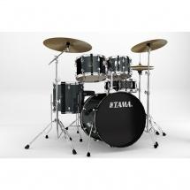 Tama Rm50yh6c-ccm Kit Rhythm Mate 2014 Fusion 20 5 Fûts Avec Accessoires Et Cymbales - Charcoal Mist