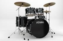Tama Rm52kh6c-ccm Kit Rhythm Mate 2014 Fusion 22 - 5 Fûts Avec Accessoires Et Cymbales - Charcoal Mist
