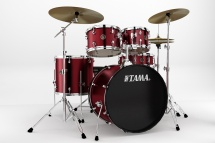 Tama Rm52kh6c-wr Kit Rhythm Mate 2014 Fusion 22 - 5 F�ts Avec Accessoires Et Cymbales - Wine Red