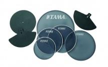 Tama Spp518c - Set Peaux Entrainement Mesh 10/12/13/14/18 + Sourdines 14/16