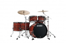 Tama Starclassic Walnut/birch Studio 22? Neon Orange Oyster