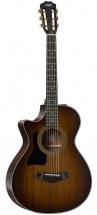 Taylor Guitars Gaucher 322ce 12-fret Lh Es2 Grand Concert