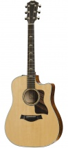 Taylor 610ce Dreadnought Cutaway  Natural