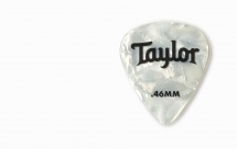 Taylor Guitars Celluloid 351 Picks White Pearl 0.46mm 12-pack