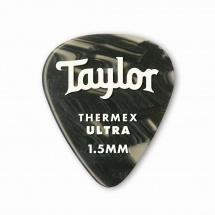 Taylor Guitars Premium 351 Thermex Ultra Picks Black Onyx 1.50mm 6-pack