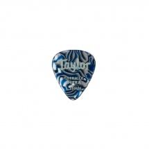 Taylor Guitars Premium 351 Thermex Ultra Picks Blue Swirl 1.25mm 6-pack