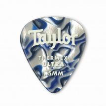 Taylor Guitars Premium 351 Thermex Ultra Picks Blue Swirl 1.50mm 6-pack