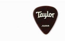 Taylor Guitars Celluloid 351 Picks Tortoise Shell 0.46mm  12-pack
