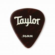 Taylor Guitars Celluloid 351 Picks Tortoise Shell 0.96mm 12-pack