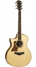Taylor 814ce Lh Grand Auditorium Cutaway Gaucher