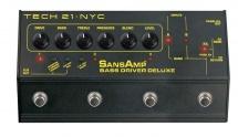 Tech21 Sansamp Bass Driver Di Deluxe