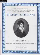 Giuliani M. 6 Complete Works, Vol. 8 - Guitare