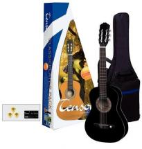 Almeria Pack Guitare Classique 3/4 Player Noir