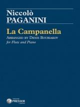 Paganini Niccolo - La Campanella - Flute & Piano (arr. Denis Bouriakov)