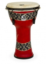 Toca Djembe Freestyle Mechanical Tuned Bali Red 9\