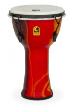 Toca Djembe Freestyle Mechanical Tuned Fiesta Red 9\