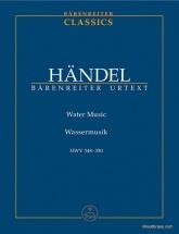 Haendel G.f. - Water Music Hwv 348-350 - Score