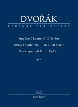 Dvorak Anton - String Quartet N°10 E-flat Major Op.51 - Score
