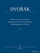 Dvorak A. - String Quartet N°2 In B-flat Major B 17 - Conducteur