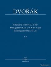 Dvorak A. - String Quartet N°2 In B-flat Major B 17 - Conducteur