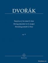 Dvorak A. - String Quintet In G Major Op.77 - Score