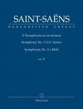 Saint-saens Camille - Symphonie N°3 Op.78 - Score