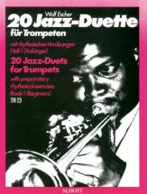 Escher Wolf - 20 Jazz-duets   Vol. 1 - 2 Trumpets