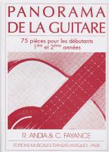 Andia / Fayance - Panorama De La Guitare Vol.1