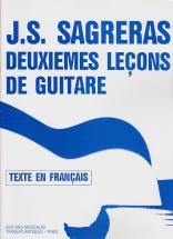 Sagreras J.s. - Deuxiemes Leçons De Guitare
