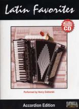 Latin Favorites Accordion + Cd