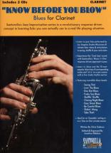 Know Before You Blow Blues For Clarinet + 2 Cd