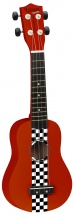 Tanglewood Soprano Tu6rrs Racing Red