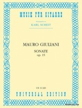 Giuliani Mauro - Sonata Op.15 - Guitar