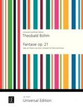 Boehm Th. - Fantasie Op.21 - Flûte Et Piano