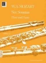 Mozart W.a. - Six Sonatas Vol2 - Flute Piano