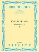 Dowland J. - Solowerke 1 - Guitare