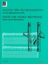 Aus Der Renaissancemusik - 2 Flutes A Bec Alto