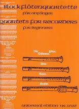 Blockflötenquartette Für Anfänger - 4 Flb