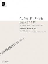 Bach C.p.e. - Sonata A-moll Wq 132 - Flute and Piano