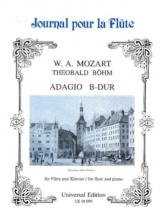 Mozart W.a. - Adagio Bb Maj Aus Kv 332 Band 20 - Flute And Piano