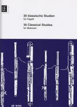 Waterhouse W. - 30 Klassische Studien - Basson