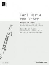 Weber C.m. (von) - Concerto In F Major - Basson Et Piano