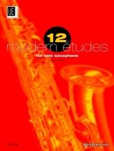 Rae J. - 12 Modern Etudes - Saxophone