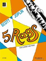 Joplin S. - 5 Rags - Clarinette Et Piano