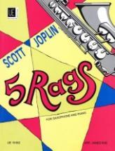 Joplin Scott - 5 Rags - Saxophone & Piano