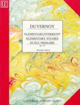 Duvernoy - Ecole Primaire Op.176