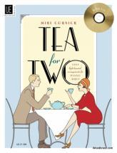 Cornick Mike - Tea For Two Mit Cd Für Klavier Zu 4 Händen Mit Cd